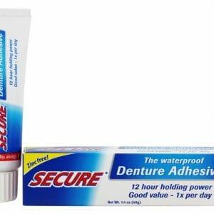 denture adhesive